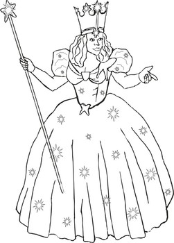 Coloring Pages Wizard of Oz (Cartoons > Wizard of Oz) - free ... | 350x251