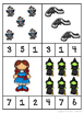 Wizard of Oz Count and Clip Cards