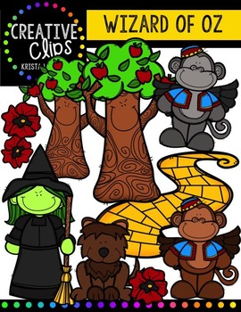Wizard of Oz {Creative Clips Digital Clipart}
