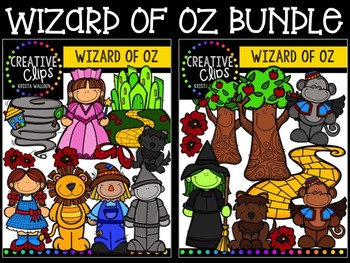 Wizard of Oz {Creative Clips Digital Clipart}