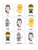Wizard of Oz Dolch Pre-Primer Sight Word Game