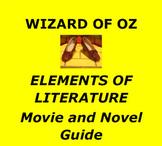 Wizard of Oz/ Elements of Literature Interactive Unit/ Mov
