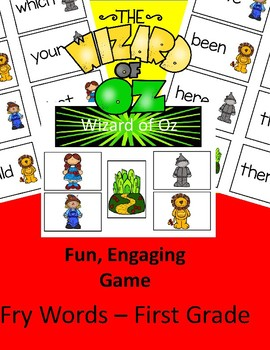 Wizard of Oz FUN - High Frequency Words