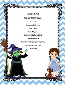 Wizard of Oz Fantasy Unit Bundle