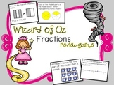 Wizard of Oz Fractions Review Game