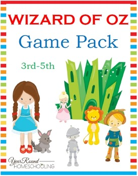 Wizard of Oz Game Pack (3rd-5th)