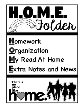Wizard of Oz H.O.M.E. Folder
