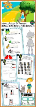 Wizard of Oz Idioms, Adages, & Proverbs Smartboard Game
