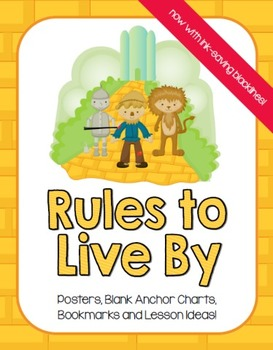 """Wizard of Oz Inspired """"Rules to Live By"""""""