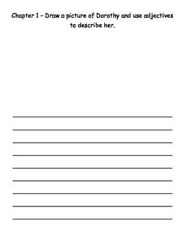 Wizard of Oz Journal - Common Core Exemplar Text