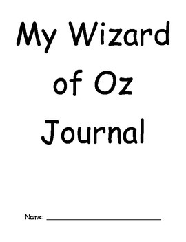 Wizard of Oz Journal - Common Core Exemplar Text
