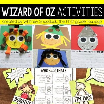 Wizard of Oz K-2 Companion Packet
