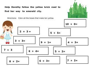 Wizard of Oz Math
