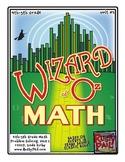 Wizard of Oz - Math Problem Solving – Grades 4 & 5