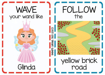 Wizard of Oz Movement Cards (Transition Activity or Brain Breaks)