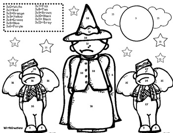 Wizard of Oz Multiplication x3's