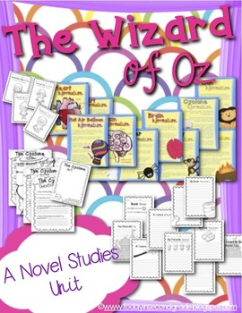 Wizard of Oz Novel Studies