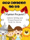 Wizard of Oz Opinion Projects