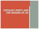 Wizard of Oz & Populism