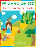 Wizard of Oz PreK Activity Pack