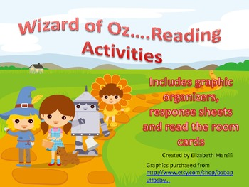 Wizard of Oz Reading Activities