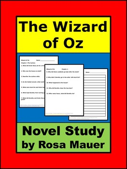Wizard of Oz Book Study