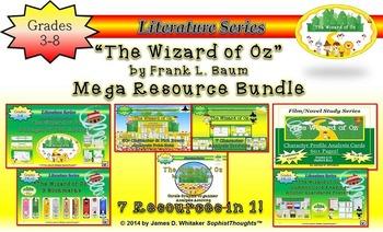 Wizard of Oz Resource & Activity Mega Bundle