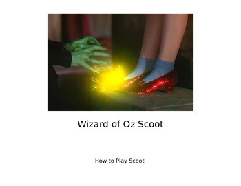 Wizard of Oz Scoot