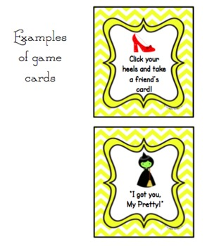 Wizard of Oz Sight Word Game- Common Core