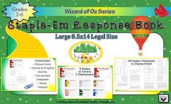 Wizard of Oz Staple-Em Book