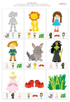 Wizard of Oz Story Activity Pack