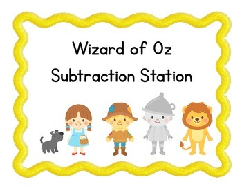 Wizard of Oz Subtraction Station