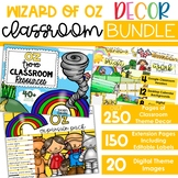 Wizard of Oz Theme - Complete Classroom Decor BUNDLE