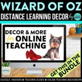 Wizard of Oz Theme | Online Teaching Backdrop | Google Cla