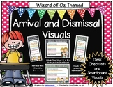 Wizard of Oz Themed Arrival and Dismissal Routine Visuals