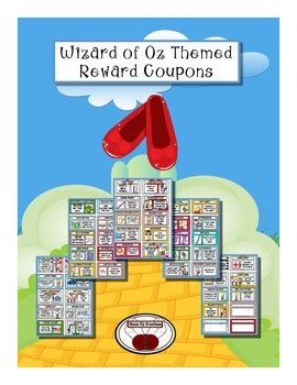 Wizard of Oz Themed Reward Coupons