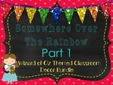 Wizard of Oz Themed Room Decor Part 1