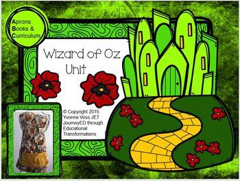 Wizard of Oz Unit (Literacy and Math Activities)