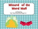 Wizard of Oz Word Wall
