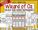 Wizard of Oz You Color Bookmarks- Preschool thru 5th Grade