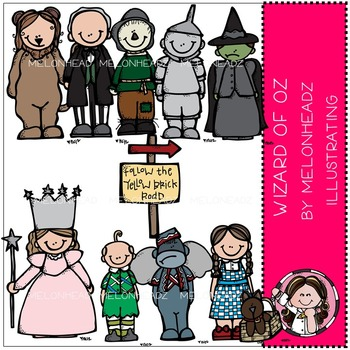 Wizard of Oz clip art - by Melonheadz