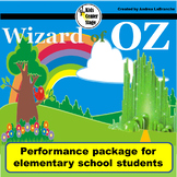 Wizard of Oz script for single class or large group musica
