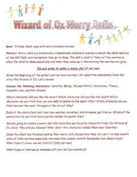 Wizard of Oz worry dolls