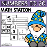 Numbers to 20 Math Stations