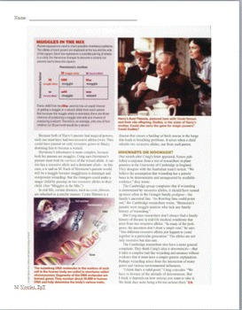 Wizarding Gene?  Learning about genetics through Harry Potter