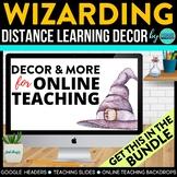 Wizarding Theme | Online Teaching Backdrop | Google Classr