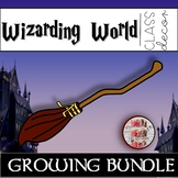 Wizarding World Classroom Theme Decor Bundle Harry Potter Decor Set Inspired