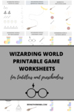 Wizarding World Printable Package