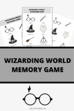 Wizarding World Scavenger Hunt/Memory Game