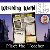 Wizarding World of Harry Potter Themed Editable Meet The Teacher Template